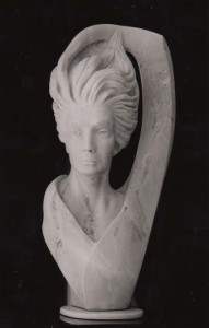 High Priestess Sculpture