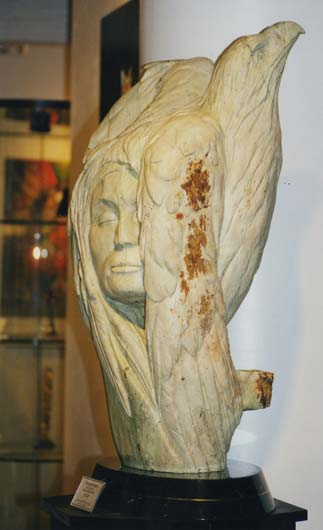Shamans Bird Sculpture
