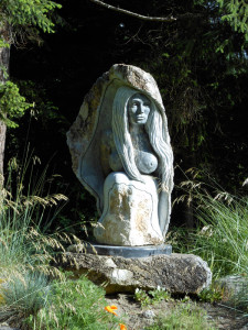 Womb of Man Sculpture
