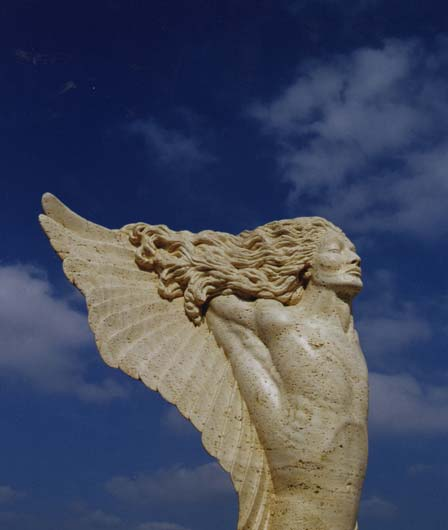 Arch Angel Sculpture by Francis Jansen