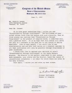 US Congress Testimonial